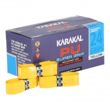 Karakal Basisband PU Super Grip 1.8mm gelb 24er Box