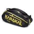 Karakal Racketbag Pro Tour Comp schwarz/gelb 2016 9er