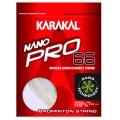 Karakal Nano Pro 66 weiss Badmintonsaite
