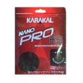 Karakal Nano Pro 66 schwarz Badmintonsaite