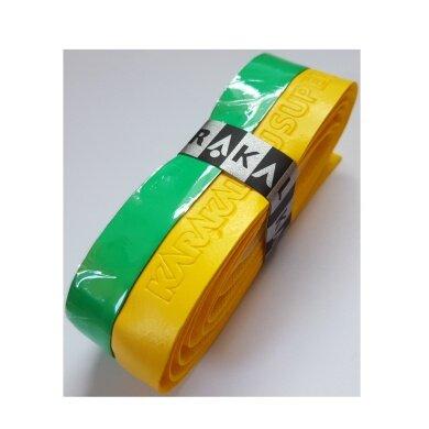 Karakal PU Super Grip DUO Basisband gelb/grün