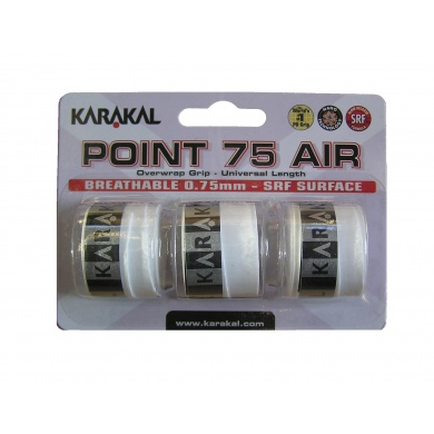 Karakal Point Air 75 Overgrip 3er weiss