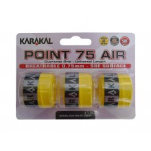 Karakal Point Air 0.75mm Overgrip 3er gelb