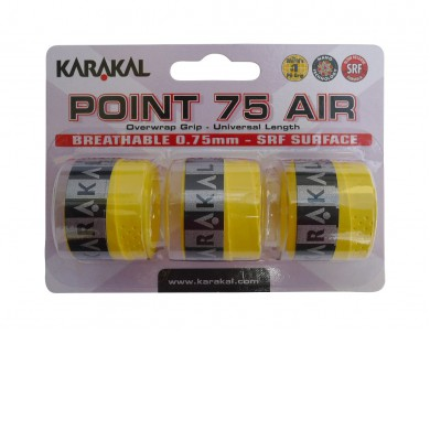 Karakal Point Air 75 Overgrip 3er gelb
