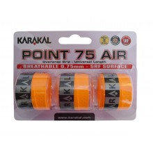Karakal Overgrip Point Air 0.75mm orange 3er