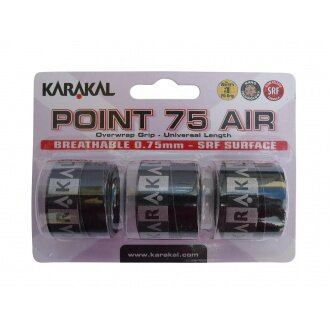 Karakal Point Air 75 Overgrip 3er schwarz