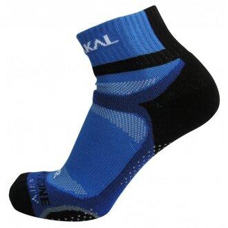 Karakal X4 Ankle Indoorsocke blau/schwarz
