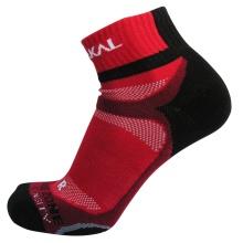 Karakal X4 Ankle Indoorsocke rot/schwarz