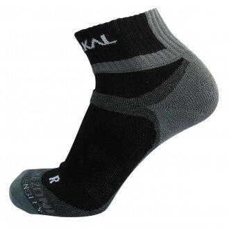 Karakal X4 Ankle Indoorsocke schwarz/grau