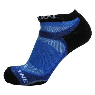 Karakal X4 Trainer Indoorsocke blau/schwarz 1er