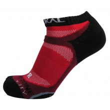 Karakal X4 Trainer Indoorsocke rot/schwarz 1er