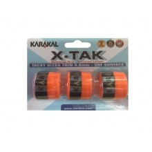 Karakal X-Tak 0.6mm Overgrip 3er orange