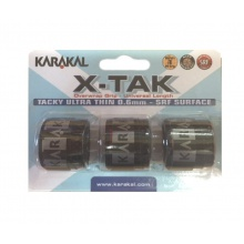 Karakal X-Tak Overgrip 3er schwarz