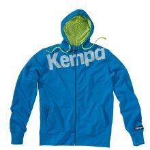 Kempa Kapuzenjacke Core 2016 blau Herren