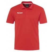 Kempa Polo Poly 2017 rot Herren