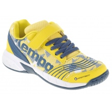 Kempa Attack One Klett 2016 gelb Indoorschuhe Kids