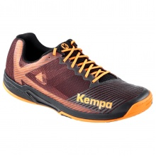 Kempa Wing 2.0 2020 schwarz/orange Indoorschuhe Herren