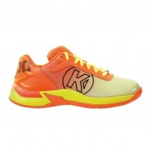 Kempa Attack 2.0 2020 fluo orange/fluo gelb Indoorschuhe Kinder