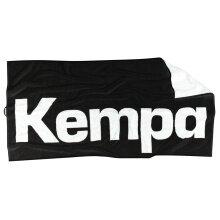 Kempa Duschtuch Logo schwarz 140x72cm