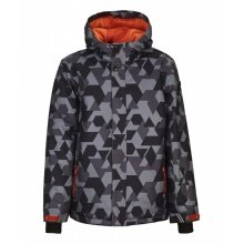 Killtec Winterjacke Gavyn Allover anthrazit Kinder
