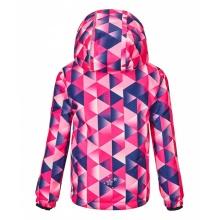 Killtec Winterjacke Viewy (winddicht, wasserdicht, Schneefang) pink/blau Kleinkinder