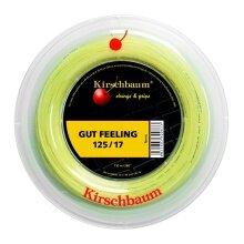 Kirschbaum Tennissaite Gut Feeling (Armschonung+Touch) natur 110m Rolle