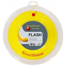 Kirschbaum Tennissaite Flash (Haltbarkeit+Power) gelb 200m Rolle