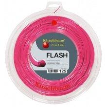 Kirschbaum Tennissaite Flash (Haltbarkeit+Power) pink 200m Rolle