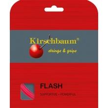 Kirschbaum Tennissaite Flash (Haltbarkeit+Power) pink 12m Set
