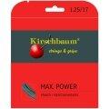 Kirschbaum Max Power silber Tennissaite