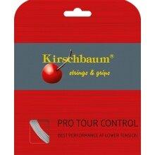 Kirschbaum Tennissaite Pro Tour Control (Haltbarkeit+Kontrolle) silber 12m Set