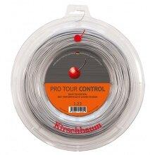 Kirschbaum Tennissaite Pro Tour Control (Haltbarkeit+Kontrolle) silber 200m Roll
