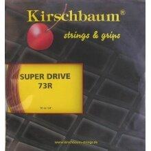 Kirschbaum Super Drive 73 rot Badmintonsaite
