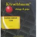 Besaitung mit Kirschbaum Super Drive 73 weiss
