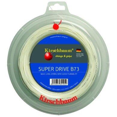 Kirschbaum Super Drive B73 weiss 200 Meter Rolle