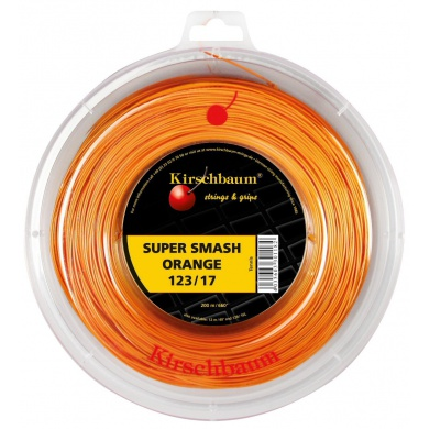 Kirschbaum Super Smash orange 200 Meter Rolle