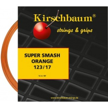 Besaitung mit Kirschbaum Super Smash orange