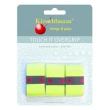 Kirschbaum Overgrip Touch it 0.5mm (extreme Griffigkeit) gelb 3er