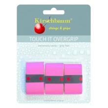 Kirschbaum Overgrip Touch it 0.5mm - extreme Griffigkeit - pink - 3 Stück