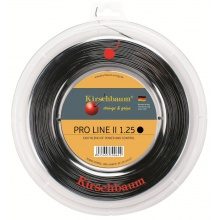 Kirschbaum Pro Line No. II schwarz 200 Meter Rolle