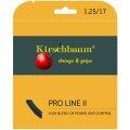 Kirschbaum Pro Line No II schwarz Tennissaite