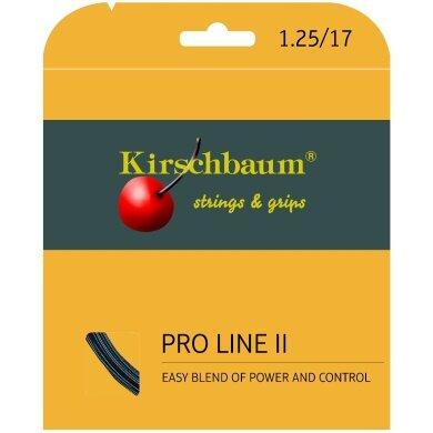 Kirschbaum Pro Line No. II schwarz Tennissaite