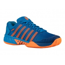 KSwiss Hypercourt Express Clay 2019 blau/orange Tennisschuhe Kinder