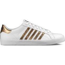KSwiss Belmont SO 2017 weiss/gold/schwarz Sneaker Damen