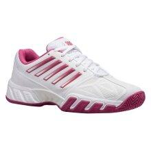 KSwiss BigShot Light 3 weiss/rose Allcourt -Tennisschuhe Damen