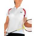 Yonex Shirt Zip 2012 weiss Damen (Größe L+XL)