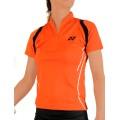 Yonex Shirt Zip 2012 orange Damen (Größe XXL)