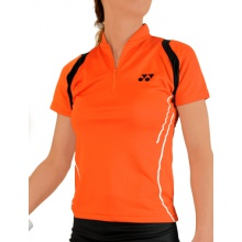 Yonex Shirt Zip 2012 orange Damen (Größe M)