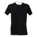 Lacoste Tshirt Crew Neck schwarz/schwarz Herren 2er