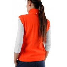 Limited Sports Weste Fleece Vyana mandarinrot Damen